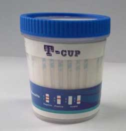 10 Panel T-Cup (w/BUP, OXY & TCA)
